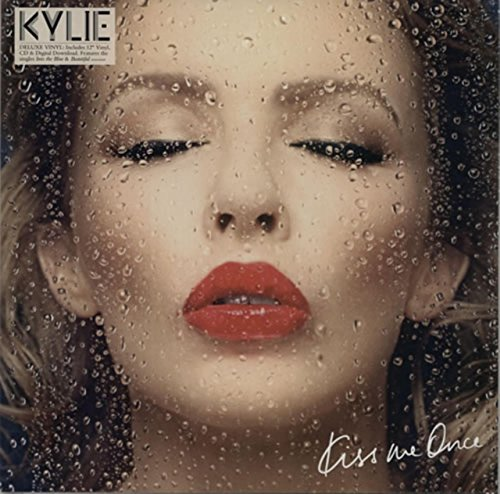 Kiss Me Once + CD - Sealed