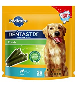 Pedigree Dentastix 36 Count Fresh Large 1.94 lbs.