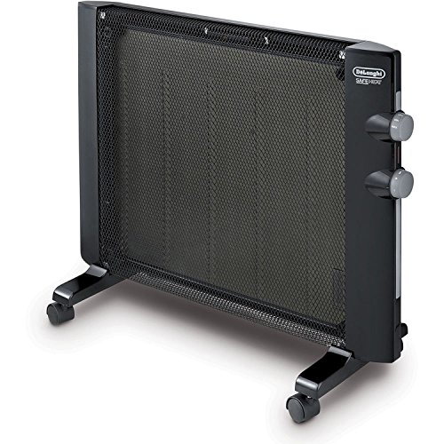 DeLonghi Mica Panel Space Heater, Freestanding OR Wall Mountable with Built-In Safety Features (Delonghi Mica compare prices)