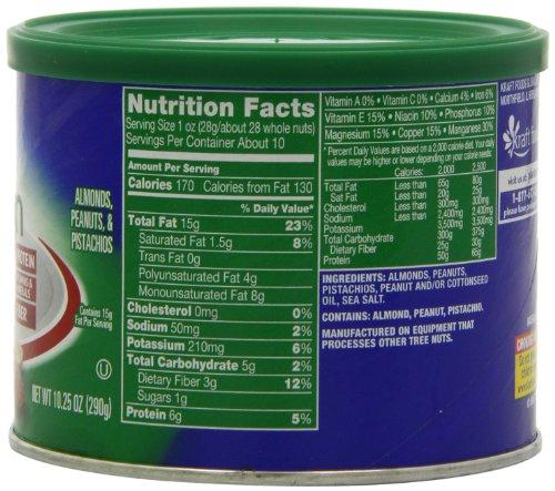 Planters Nutrition Almond Peanut Pistachio, 10.25 Oz