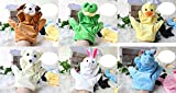 Biduole Animal Big Hand Puppets (6 Pcs)