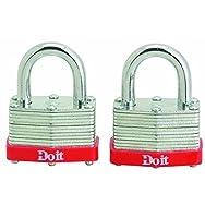 Do it 2-Pack Warded Steel Padlocks-2PK 1-1/2