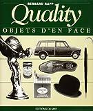 echange, troc Bernard Rapp, François Boissonnet - Quality : objets d'en face