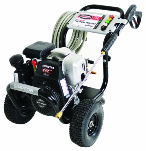 SIMPSON Cleaning MSH3125-S 3100 PSI at 2.5 GPM Gas Pressure Washer Powered by HONDA with OEM Technologies Axial Cam Pump (All Power America Pressure Washer compare prices)