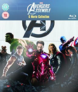 Marvel's The Avengers - 6-Disc Box Set [Blu-ray] [Region Free]