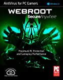 SecureAnywhere AntiVirus for PC Gamers 2015 1 Year 1 Device PC