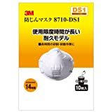 8710-DS1 防じんマスク 10P
