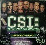 CSI: Crime Scene Investigation, 750 Piece Mystery Puzzle, Unbalanced Death by RoseArt [並行輸入品]