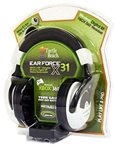 Ear Force X31 Digital RF Wireless Game Audio + Xbox Live Chat