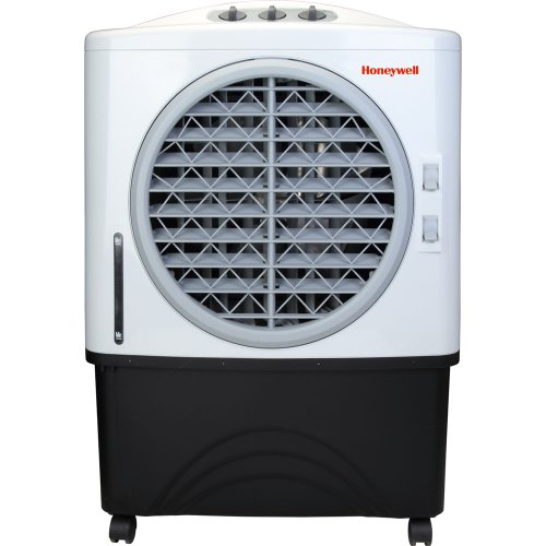 Honeywell CO48PM 100 Pt. Commercial Indoor/Outdoor Portable Evaporative Air Cooler – White/Grey