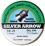 Beeman Silver Arrow .22 Cal, 17.13 Grains, Pointed (200 Count)