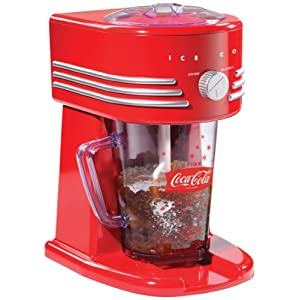 Nostalgia Electrics Coca Cola Series FBS400COKE Frozen Beverage Maker