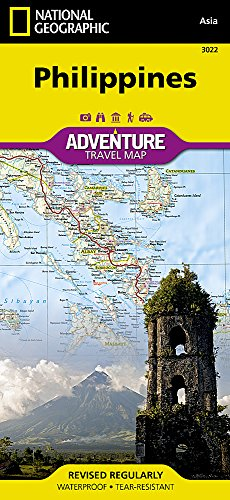 Philippines (National Geographic Adventure Map)