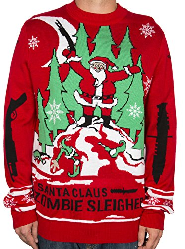 la-police-gear-zombie-christmas-sweater-2x-large
