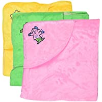 Dream Baby Blankets - Set Of 3 (Multi-color, 0-6 Months) - B01KHU1B8M