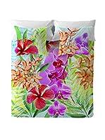 COSTURA Juego De Funda Nórdica Orchids (Multicolor)