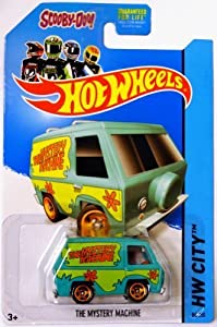 2014 Hot Wheels The Mystery Machine Scooby Doo (84/250) by Mattel