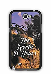 YuBingo The World is Yours Designer Mobile Case Back Cover for Samsung Galaxy Note 2