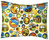 SheetWorld Crib / Toddler Baby Pillow Case - Flannel Pillow Case - Baby Transport - Made In USA