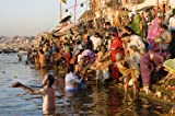 Crown & Andrews Spirit of the Wild 1000 Piece Puzzle Bathing in the Ganges River India
