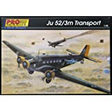1/48 Junkers Ju-52/3m Transport Aircraft Germany WWII Pro-Modeler Revell Monogram
