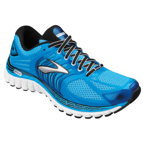 Brooks Women'S Glycerin 11 Running Shoes, Color: Aqrs/Drsdnblu/Blk/Slv/Shckorng, Size: 8.5