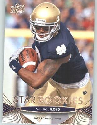 2012 Upper Deck # 118 Michael Floyd SR RC - Notre Dame Fighting Irish (Arizona Cardinals (Star Rookies / RC Rookie Card)(NFL Football Trading Card)
