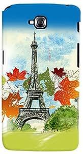 PrintVisa 3D-LGGPROLITE-D8127 Travel Paris Case Cover for LG G Pro Lite