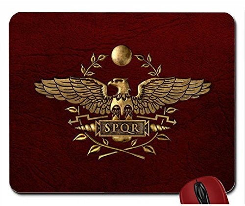 B-Abstract-leather-flags-textures-rome-roman-empire-banner-red-background-1920x1080-wallpapermouse-pad-computer-mousepad
