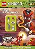 LEGO Ninjago: Ninja vs Fangpyre Activity Book with minifigure