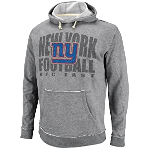 New York Giants Crucial Call Gray French Terry Sweatshirt Hoody by VF