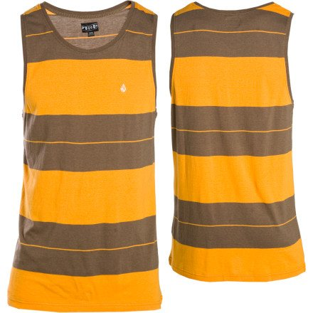 Volcom Men's Riot Tank, Chocolate, Medium