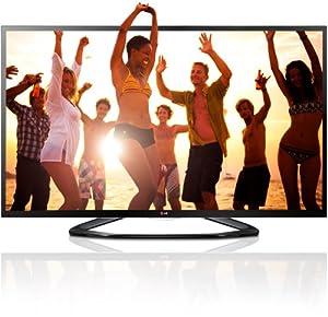 LG 55LA6408 139 cm (55 Zoll) Cinema 3D LED-Backlight-Fernseher (Full HD, 200Hz MCI, WLAN, DVB-T/C/S, Smart TV) schwarz