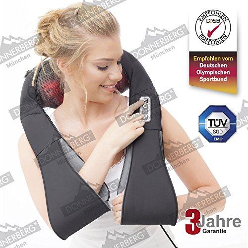 Donnerberg - Nacken und Schulter Shiatsu Massagegerät mit Infrarotwärmefunktion