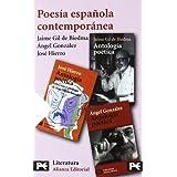 Estuche - Poesía contemporánea: José Hierro - Jaime Gil de Biedma - Angel González (Libro De Bolsillo, El)
