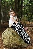 Scene-Weavers-Pickles-30-X-40-Journey-Fleece-Baby-Blanket-Zebra