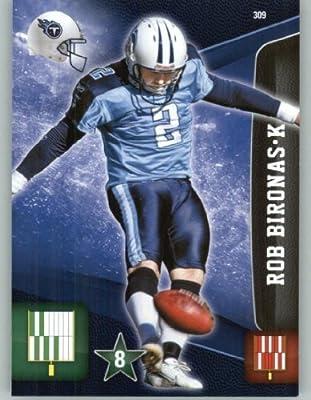 2011 Panini Adrenalyn XL Football Card #309 Rob Bironas - Tennessee Titans - NFL Trading Card