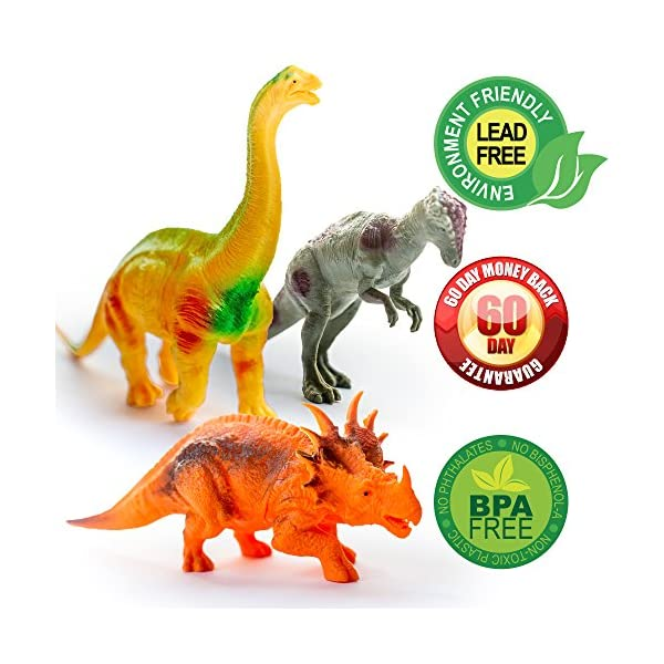 Biology Learning & Education 90 Piece Mini Dinosaurs Toy Set Plastic Dinosaur Play Set Toys Plastic Jurassic Play Dinosaur Model For Boys To Have A Unique National Style