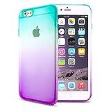 Z-NUMBER1 iPhone6/iPhone6s(4.7インチ)用 グラデーション 衝撃吸収 シリコンケース TPUケース スマホ スマートフォン ケース カバー スマホカバー スマホケース シリコンカバー iPhone6 iPhone6s アイフォン6 アイフォン6s アイフォン6ケース アイフォン6sケース iphone6ケース ソフトケース 人気 衝撃 a058 15ID12-3-PURSBU
