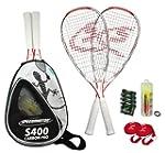 Speedminton S400 Set de badminton Bla...