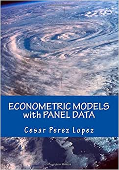 Download ebook ECONOMETRIC MODELS with PANEL DATA