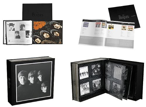 The Beatles: Box of Vision Collector's Coffee Table Art Book and Core Album Catalog Collection CD Storage System Display Set