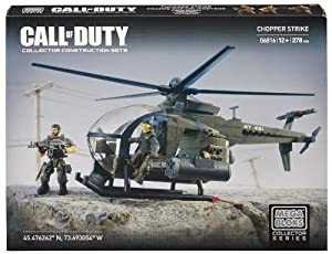 Mega Bloks Call of Duty Chopper Strike Collector Construction Set