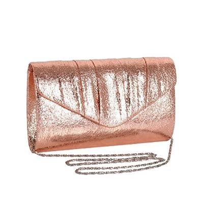 00ecd1915f89 Gold Handbags: Rose Gold Clutch Uk