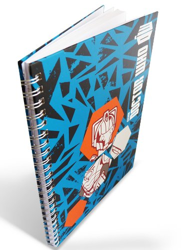 Official Doctor Who Stationery - A5 Notebook / Journal - Worlds In Time