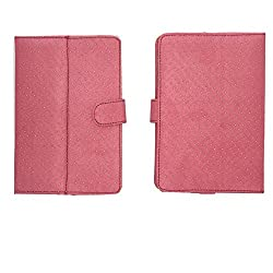 BRAIN FREEZER G2 SILVER DOTTED FLIP FLAP CASE COVER POUCH STAND FOR HCL ME X1 TAB TABLET 7