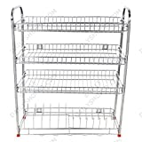 Dailyshoper Kitchen Rack for Modular Kitchen in Stainless Steel 31*24