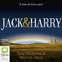 Jack & Harry Audiobook by Tony McKenna, Mervyn Davis Narrated by David Tredinnick