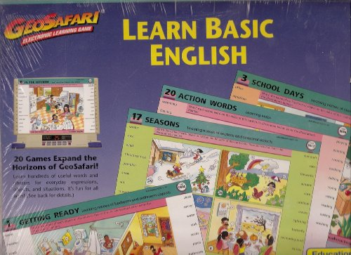 GeoSafari Learn Basic English - 1