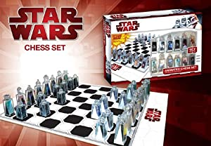 Star Wars ~ Animated Lenticular Chess Set